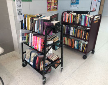 High School Book Cart