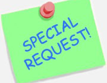 Special Book Requests